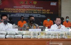 Dahsyat, Polisi Sita 7 Ton Sabu-sabu - JPNN.com