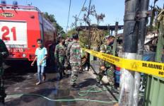 Asrama TNI di Bali Terbakar - JPNN.com
