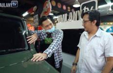 Azriel Hermansyah Kepincut Koleksi Mobil Andre Taulany - JPNN.com