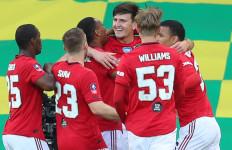 Manchester United Butuh 120 Menit Untuk Kalahkan 10 Pemain Norwich City - JPNN.com