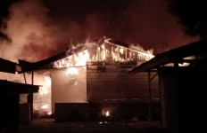 Delapan Unit Rumah di Asrama Polisi Aceh Utara Ludes Terbakar - JPNN.com