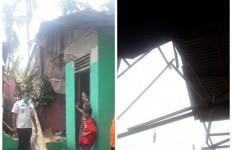 240 Unit Rumah Warga Hinai Rusak Dihantam Angin Puting Beliung, 5 Orang Terluka - JPNN.com