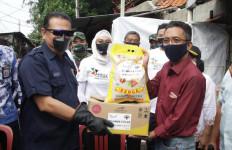 Sosialisasi Empat Pilar MPR RI di Kalangan Pemulung, Bamsoet Salurkan Sembako dan Sepeda - JPNN.com
