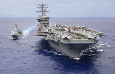 Amerika Kembali Kirim Kapal Perang, Laut China Selatan Makin Mencekam - JPNN.com