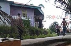 Pria Mabuk Lem Nekat Kejar Polisi dengan Badik, Begini Akhirnya - JPNN.com