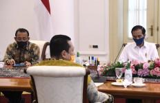 Pimpinan MPR Temui Jokowi, Bahas Isu Reshuflle Hingga RUU HIP - JPNN.com