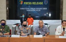 Bareskrim Polri Tangkap Pembobol Data Pribadi Denny Siregar, nih Tampangnya - JPNN.com