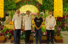 Rahayu di Gedung Voli - JPNN.com