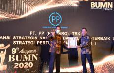 PT PP Raih 2 Penghargaan Dalam Anugerah BUMN 2020 - JPNN.com