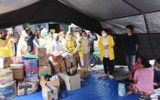 IIPG Salurkan Bantuan untuk Korban Kebakaran