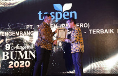 Raih Penghargaan Dalam Anugerah BUMN 2020, SDM PT Taspen Terbukti Berdaya Saing Global - JPNN.com