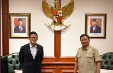 Sandiaga Uno Berkunjung ke Kantor Prabowo, Wajah Keduanya Semringah Sekali - JPNN.com