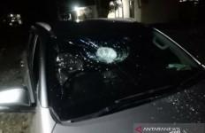 Mobil Politikus Partai Perindo Dilempar Batu, Teror yang Kedua - JPNN.com