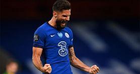 Gol Giroud di Menit 45+3 Bikin Chelsea Menjauh dari Leicester dan MU