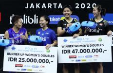 Juara di Turnamen PBSI, Ribka/Fadia Dapat Rp 47 Juta - JPNN.com
