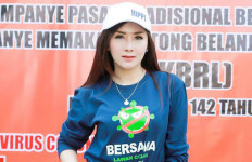 Ucie Sucita Ikut Kampanyekan Pasar Bebas Covid-19 - JPNN.com