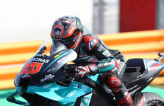 FP3 MotoGP Spanyol: Quartararo Mengamuk, Marquez Bikin Kesal Rins - JPNN.com