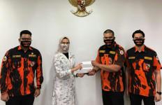 Kampanye Tunda Mudik SAPMA PP DKI Diapresiasi Presiden Jokowi - JPNN.com