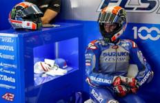 Lihat, Alex Rins Jatuh di Kualifikasi MotoGP Spanyol, Sangat Mengerikan - JPNN.com