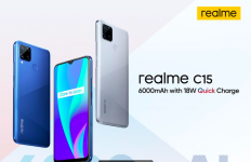 Bawa Kekuatan Baterai Besar, Realme C15 Siap Meluncur di Indonesia - JPNN.com
