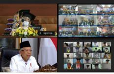UT Pioner PJJ, Simak Pesan Wapres Ma'ruf Amin - JPNN.com
