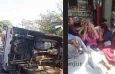 Bus Rombongan Pelajar Terguling di Garut, 2 Orang Tewas, Begini Kronologi Mengerikan Itu - JPNN.com