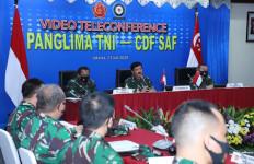 Panglima TNI dan Pangab Singapura Gelar Pertemuan, Nih Agendanya - JPNN.com