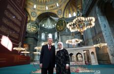Erdogan Kembali Ubah Bekas Gereja Romawi Jadi Masjid - JPNN.com