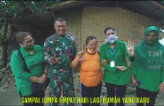 Bikin Terharu, Istri KSAD Renovasi Rumah Reyot Mbah Sri Dalam 4 Hari - JPNN.com