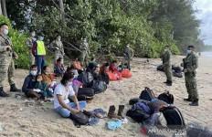 42 WNI Ditangkap Tentara Malaysia, Lihat Fotonya, Ya Ampun - JPNN.com