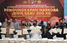 Bea Cukai dan Bareskrim Polri Ungkap Peredaran Gelap 200 Kg Narkoba - JPNN.com