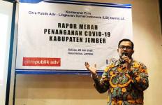 Hasil Survei LSI Denny JA: Warga Tak Puas dengan Penanganan COVID-19 Pemkab Jember - JPNN.com
