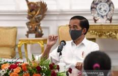 Tanpa Candaan Ringan, Ini Sambutan Jokowi di Kongres Luar Biasa Gerindra - JPNN.com