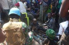 Satgas TNI Evakuasi Korban Pengadangan Bandit Bersenjata di Kongo - JPNN.com