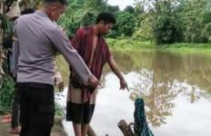 Buang Hajat di Sungai, IRT Diterkam Buaya Sepanjang Tujuh Meter, Begini Akhirnya - JPNN.com