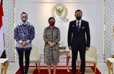Pertemuan Hangat AHY, Ibas, dan Puan Maharani - JPNN.com