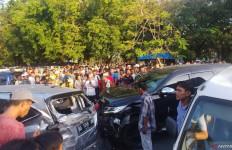 Pajero Tabrak Enam Mobil, Pelakunya Ternyata Polisi Berpangkat AKP - JPNN.com