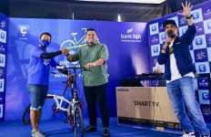 BJB Cycling DigiCash V-Ride Series 1 Jadi Ajang Gowes Bertabur Hadiah - JPNN.com