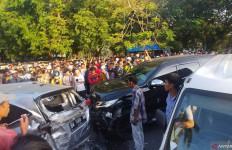 Pengemudi Pajero Penabrak 6 Mobil di Imam Bonjol Ternyata Anggota Polisi Berpangkat AKP - JPNN.com