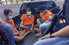 Vicky Erdianto Mengeluarkan Senjata Api, Kalah Cepat dari Polisi Surabaya, Dor! - JPNN.com