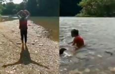 Ziarah ke Kuburan Tua, Ada Penampakan yang Bikin Merinding, Lihat Videonya - JPNN.com