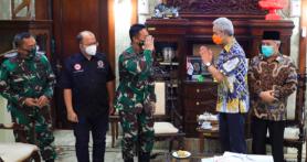 2 Jenderal TNI Datangi Rumah Pak Ganjar di Malam Hari, Apa yang Terjadi?