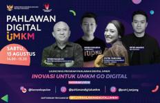 Putri Tanjung dan Teten Masduki Berburu Pahlawan Digital UMKM - JPNN.com