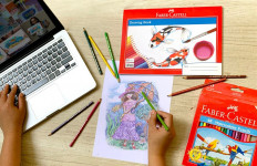 Menggambar dan Mewarnai dapat Membantu Mengurangi Kecemasan - JPNN.com