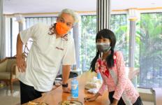 Bunga Tak Menyangka Diundang Pak Ganjar, Curhat Panjang Lebar dan Bawa Nasi Jagung - JPNN.com