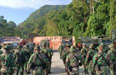 38 Pasukan TNI Datang pakai KM Barcelona, Selamat Bertugas demi NKRI - JPNN.com