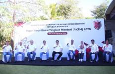 Lihat, Para Menteri Kabinet Indonesia Maju Rapat di Bali - JPNN.com