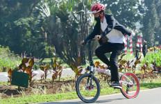 Respons Istana untuk Imbauan KPK soal Sepeda dari Daniel Mananta buat Pak Jokowi - JPNN.com