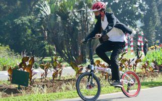 Respons Istana untuk Imbauan KPK soal Sepeda dari Daniel Mananta buat Pak Jokowi