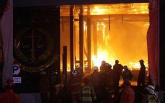 Bareskrim Simpulkan Kebakaran Gedung Kejagung karena Puntung Rokok Kuli Bangunan